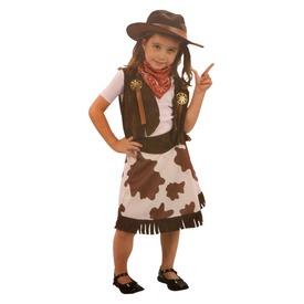 Cowgirl jelmez - 92-104-es méret