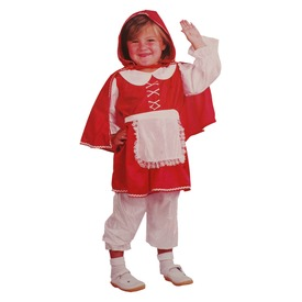 Piroska jelmez - piros-fehér, 92-104-es méret