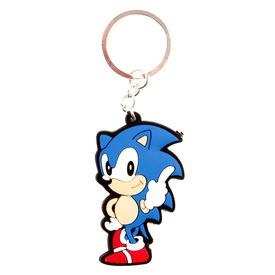 Sonic figurás kulcstartó - 6 cm, többféle