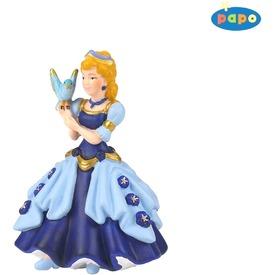 Papo kék hercegnő madárral 39035