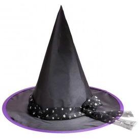 Boszorkány kalap csillagos szalaggal