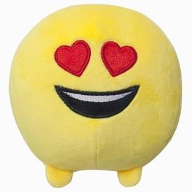 Imoji plüss labda - szívecskés szemű, 11 cm Itt egy ajánlat található, a bővebben gombra kattintva, további információkat talál a termékről.