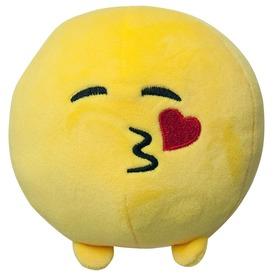 Imoji plüss labda - szívet küldő, 11 cm