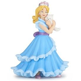 Papo kék hercegnő macskával 39125
