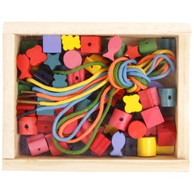 Fa gyönyfűző készlet dobozban - kicsi Itt egy ajánlat található, a bővebben gombra kattintva, további információkat talál a termékről.