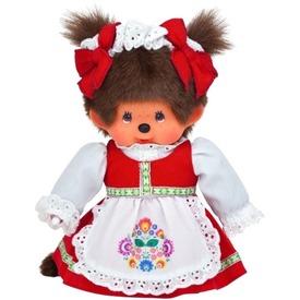 Monchhichi kalocsai mintás ruhás lány plüssfigura - 20 cm Itt egy ajánlat található, a bővebben gombra kattintva, további információkat talál a termékről.