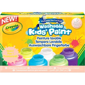 Crayola: 6 darabos neon lemosható festék Itt egy ajánlat található, a bővebben gombra kattintva, további információkat talál a termékről.