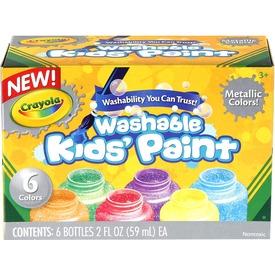Crayola: metálszínű 6 darabos festék készlet Itt egy ajánlat található, a bővebben gombra kattintva, további információkat talál a termékről.