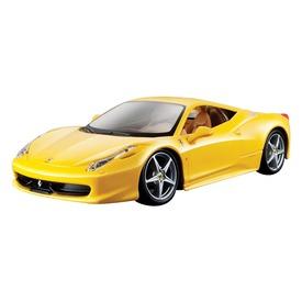 Bburago Ferrari 1:24 458 R&P, sárga  Itt egy ajánlat található, a bővebben gombra kattintva, további információkat talál a termékről.