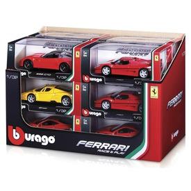 Bburago Ferrari autómodell - 1:32, többféle Itt egy ajánlat található, a bővebben gombra kattintva, további információkat talál a termékről.