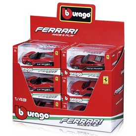 Bburago Ferrari 1:43 R&P szort  Itt egy ajánlat található, a bővebben gombra kattintva, további információkat talál a termékről.