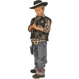 Fekete cowboy mellény /bőr Itt egy ajánlat található, a bővebben gombra kattintva, további információkat talál a termékről.