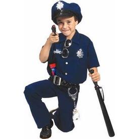 Rendőr jelmez - 128 cm-es méret