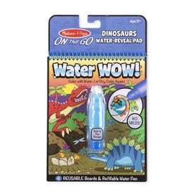 M&D, Rajzolás vízzel, dinoszaurusz