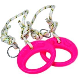 Műanyag tornagyűrű kötéllel - többféle