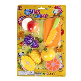 Vágható gyümölcs műanyag készlet