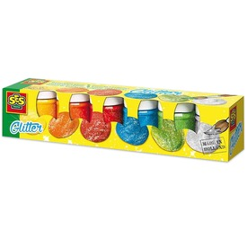 SES csillogó festék - 6 x 50 ml
