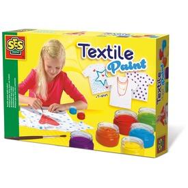 SES textilfestő készlet pólóval