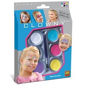 Clowny arcfestő lányoknak 6 darabos készlet Itt egy ajánlat található, a bővebben gombra kattintva, további információkat talál a termékről.