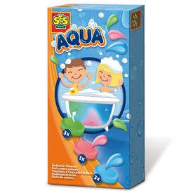 SES fürdőkád vízszínező tabletta készlet