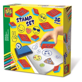 Emoji nyomda 36 darabos készlet