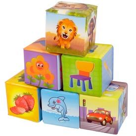 Puha építőkocka 6 darabos készlet