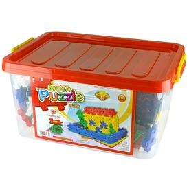 Mega Puzzle műanyag 204 darabos építőjáték