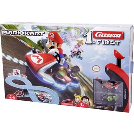 Carrera 1. first Mario Kart