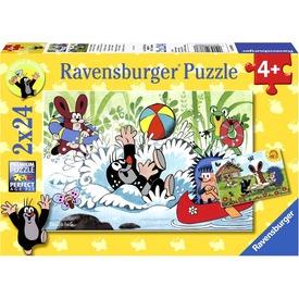 Puzzle 2x24db Kisvakond nyaral Itt egy ajánlat található, a bővebben gombra kattintva, további információkat talál a termékről.