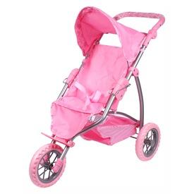 3 kerekű játék jogger babakocsi /rózsaszín macis / Itt egy ajánlat található, a bővebben gombra kattintva, további információkat talál a termékről.