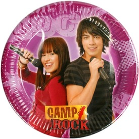 Camp Rock papírtányér