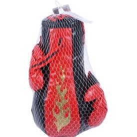 Boxzsák kesztyűvel - piros-fekete Itt egy ajánlat található, a bővebben gombra kattintva, további információkat talál a termékről.