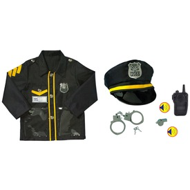 Rendőr jelmez - 3-7 éves korig Itt egy ajánlat található, a bővebben gombra kattintva, további információkat talál a termékről.