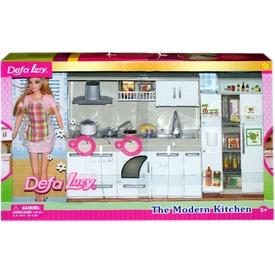 Defa Lucy konyha babával, világító tűzhellyel, sütővel Itt egy ajánlat található, a bővebben gombra kattintva, további információkat talál a termékről.