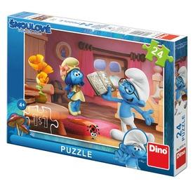 Hupikék törpikék 3 - 24 darabos puzzle