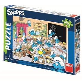 Hupikék törpikék 3 - 100 darabos XL puzzle