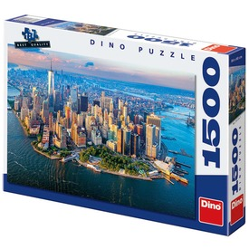 New York 1500 darabos puzzle