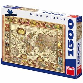 Világtérkép és a hét csoda 1500 darabos puzzle Itt egy ajánlat található, a bővebben gombra kattintva, további információkat talál a termékről.