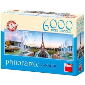 Eiffel torony 6000 darabos panoráma puzzle