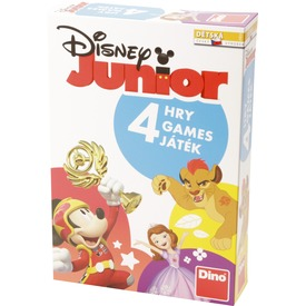 Disney junior 4 az 1-ben társasjáték Itt egy ajánlat található, a bővebben gombra kattintva, további információkat talál a termékről.