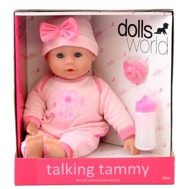 Beszélő és alvó puha baba - rózsaszín ruhában, 38 cm Itt egy ajánlat található, a bővebben gombra kattintva, további információkat talál a termékről.