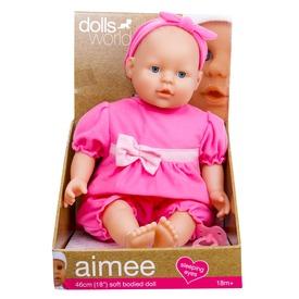 Aimee alvó puha baba - 46 cm Itt egy ajánlat található, a bővebben gombra kattintva, további információkat talál a termékről.