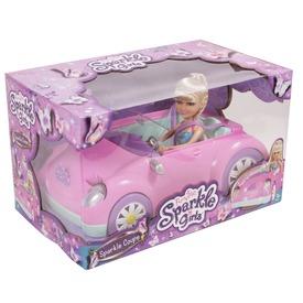 Sparkle Girlz kabrió autó babával Itt egy ajánlat található, a bővebben gombra kattintva, további információkat talál a termékről.