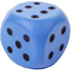 Szivacs dobókocka - 6 cm, többféle