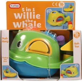 Willie a bálna 5 az 1-ben bébijáték