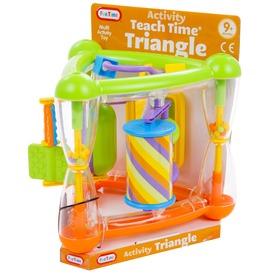 Fun Time Háromszögű activity csörgő bébijáték Itt egy ajánlat található, a bővebben gombra kattintva, további információkat talál a termékről.