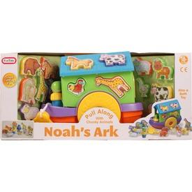 Noé bárkája húzható formaválogató bébijáték