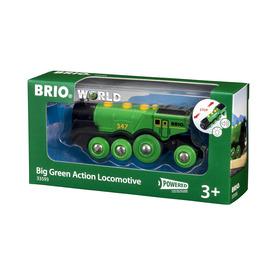 BRIO Nagy zöld lokomotív