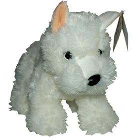 Terrier kutya plüssfigura - fehér, 25 cm Itt egy ajánlat található, a bővebben gombra kattintva, további információkat talál a termékről.