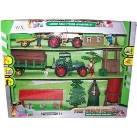Mezőgazdasági készlet traktorral és épülettel Itt egy ajánlat található, a bővebben gombra kattintva, további információkat talál a termékről.
